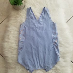 ivivva lululemon cross back tank